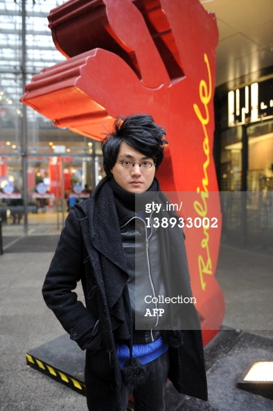 Dacy Chou at Berlin Film Festival 2012