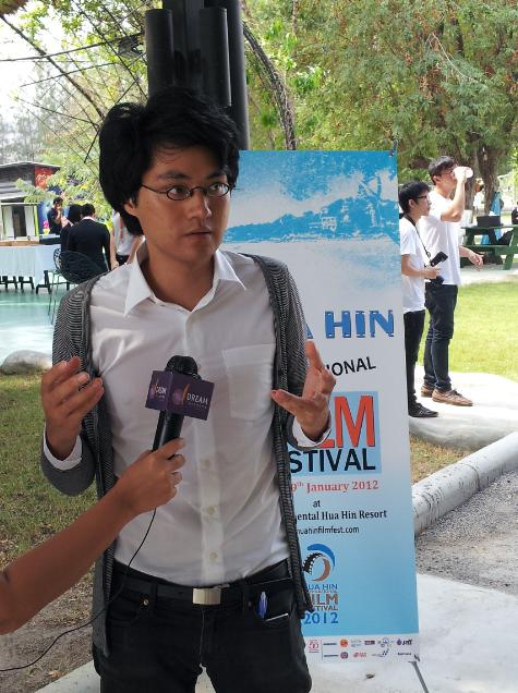 Davy Chou at Hua Hin Festival