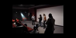 Le Sommeil d'Or-Débat après la projection au cinéma le Kosmos